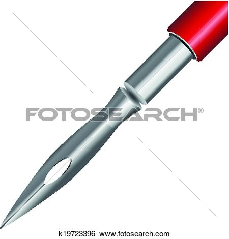 Clip Art of Replacement stylus k19723396.