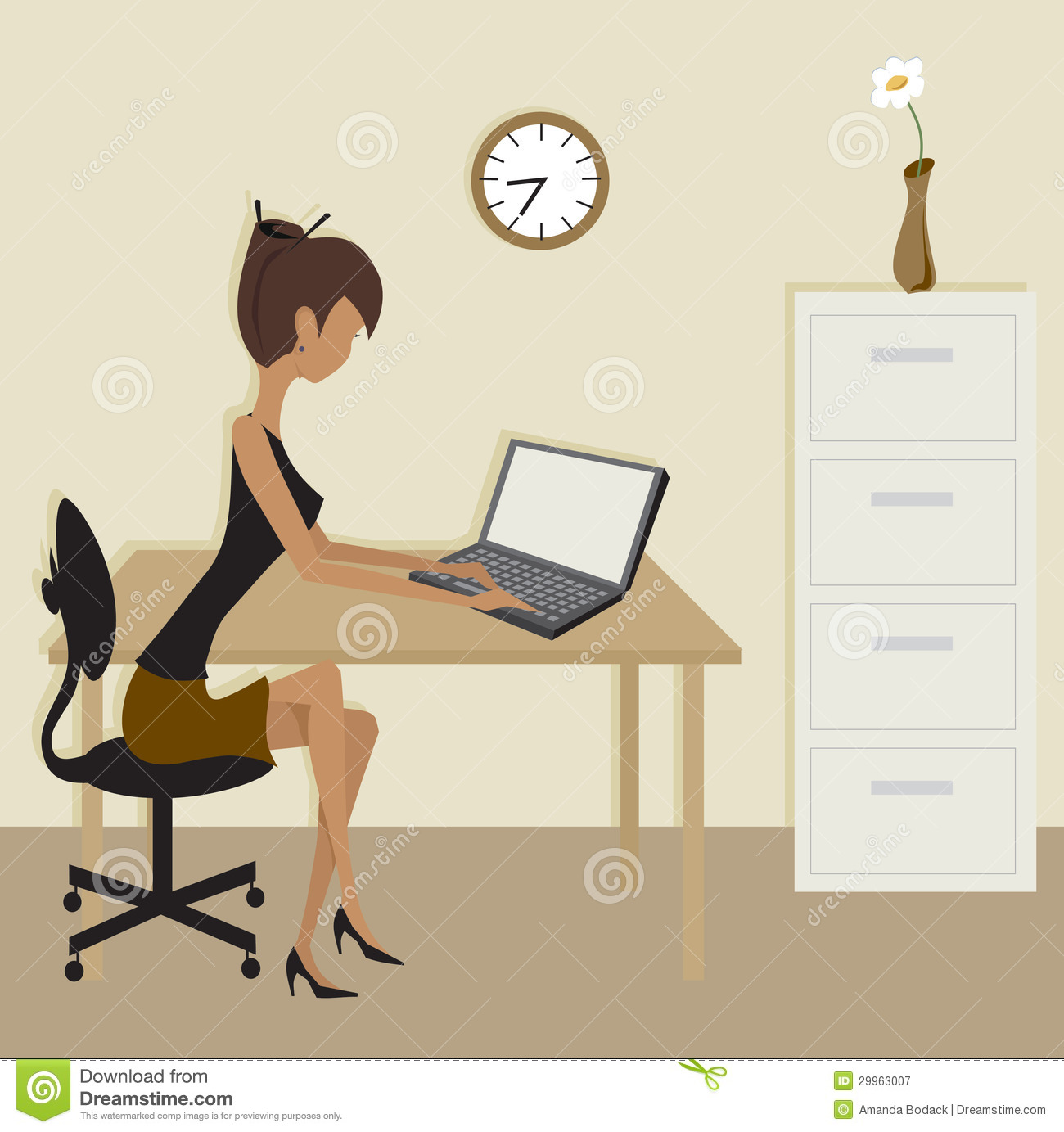 Free Office Clipart Images.
