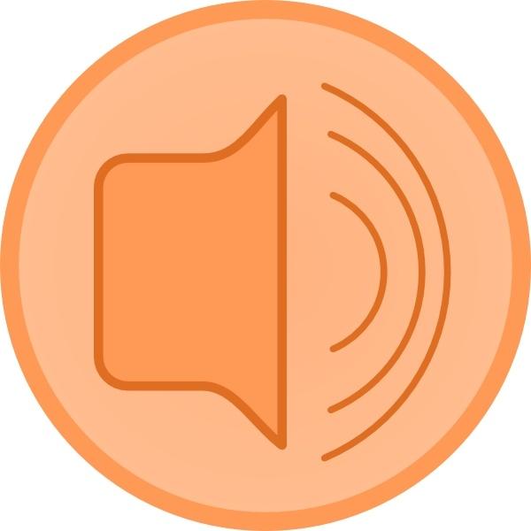Audio Speaker clip art Free vector in Open office drawing.