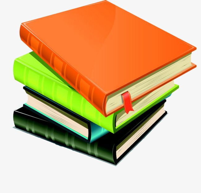 A Pile Of Books, Books, Book, Stacked Books PNG Transparent.