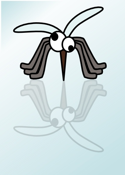 Mosquito clip art Free vector in Open office drawing svg.