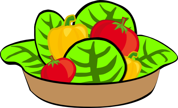 Microsoft Office Salad In A Bowl Clipart.