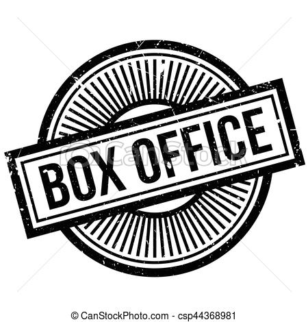 Box Office rubber stamp.