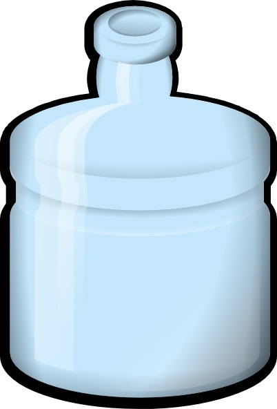 Jonata Water Bottle clip art Free vector in Open office.