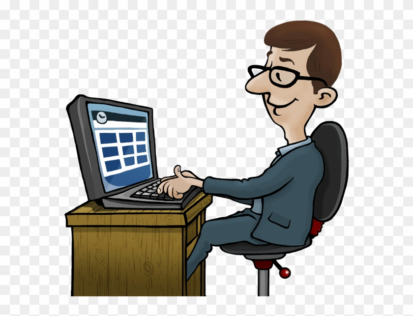 Pc Clipart Office Computer.