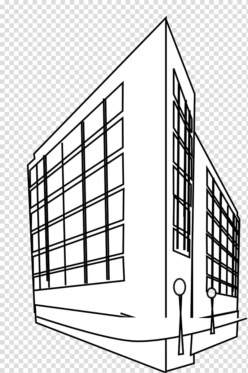 Building Black and white Website , Office Building.
