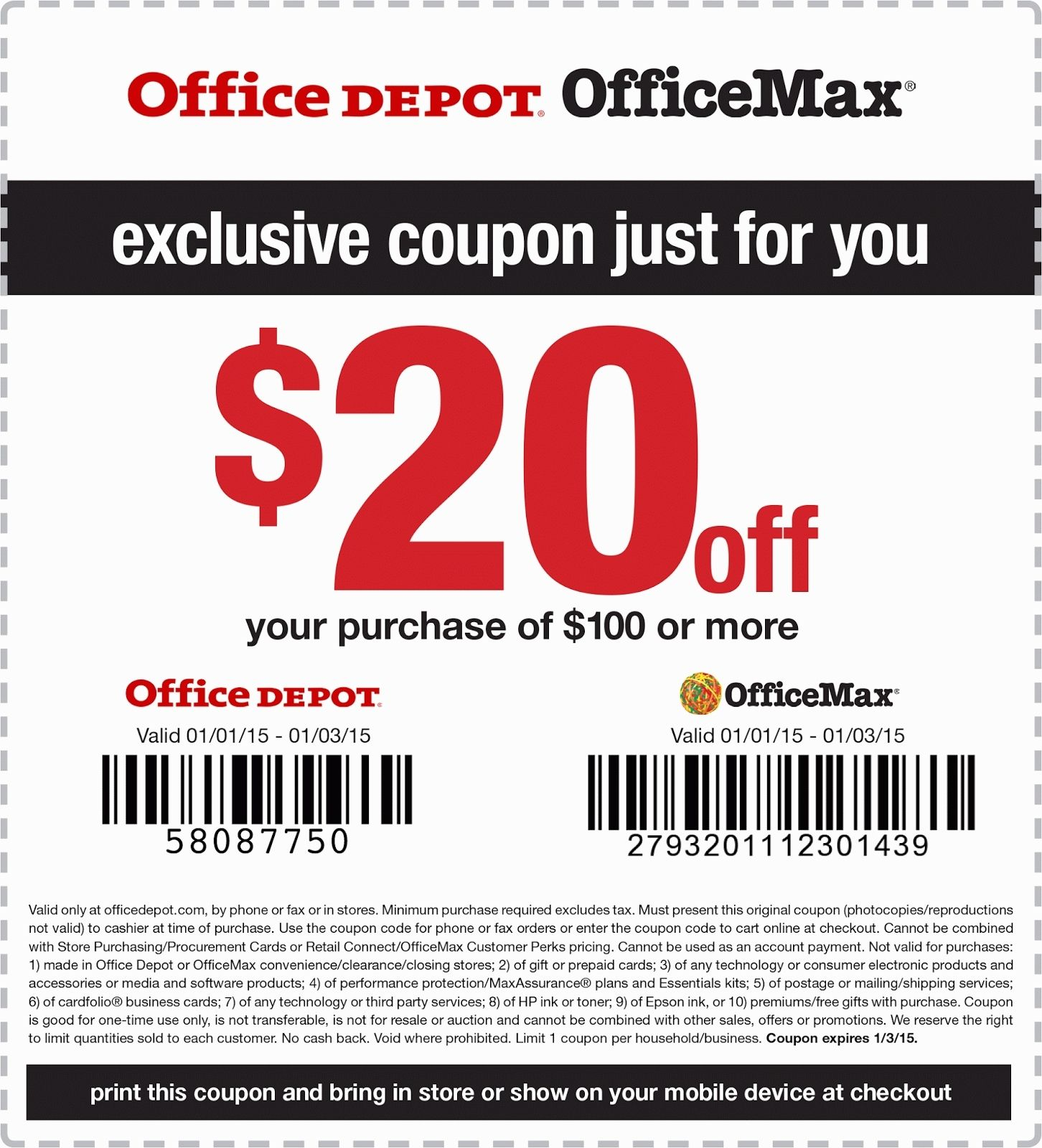 office coupon.