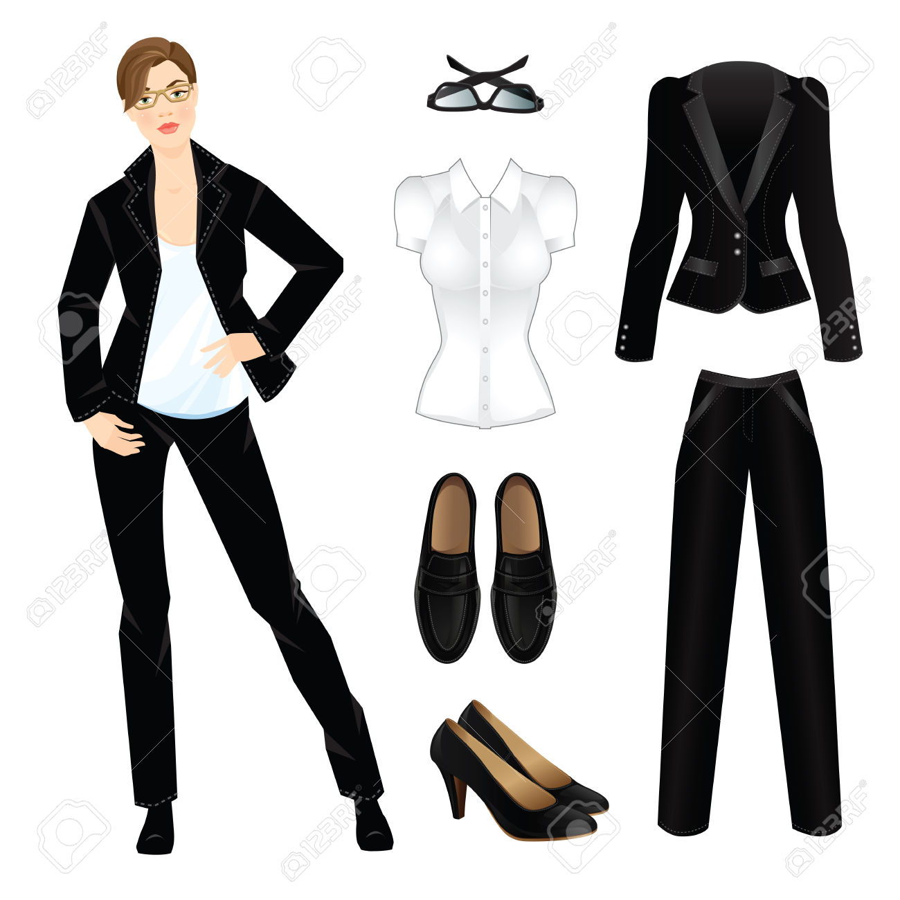 1,885 Dress Code Stock Vector Illustration And Royalty Free Dress.