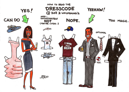 Professional Dress Code Clipart.