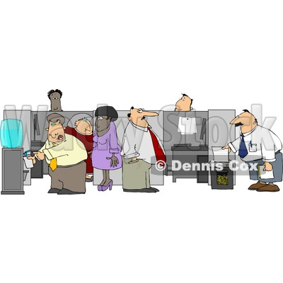 Employee Clipart by Dennis Cox.
