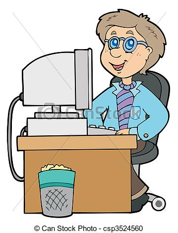 Office employee Vector Clip Art Illustrations. 24,594 Office.