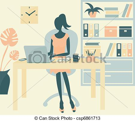 Office environment Clip Art and Stock Illustrations. 7,725 Office.