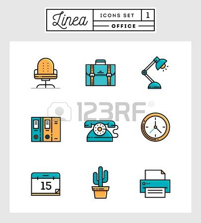 12,034 Office Environment Stock Vector Illustration And Royalty.