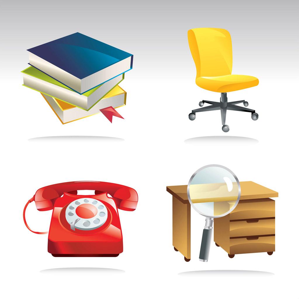 Office Equipment Clipart.