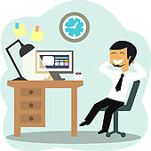 Office worker Clip Art Royalty Free. 33,463 office worker clipart.