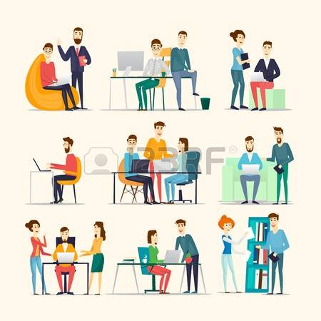 12,888 Office Life Stock Illustrations, Cliparts And Royalty Free.