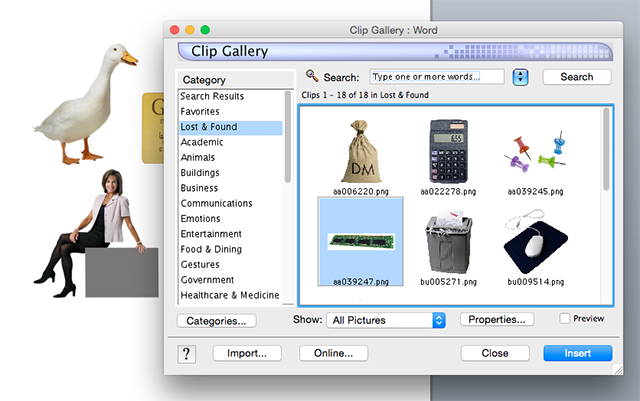 63+ Office Clipart For Mac.