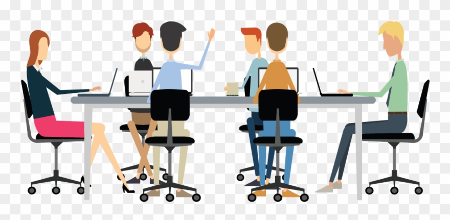 Conference Clipart Office Meeting.