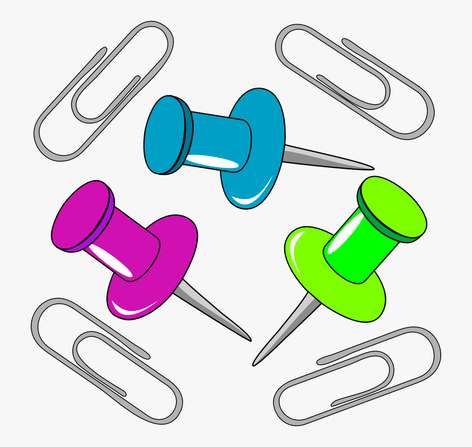 Paper Clip Stationery Drawing.