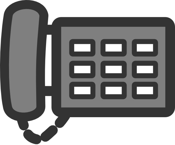 Office phone clip art vector clipart cliparts for you.