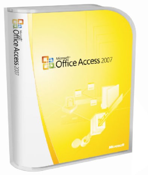 Microsoft Access 2007 License.
