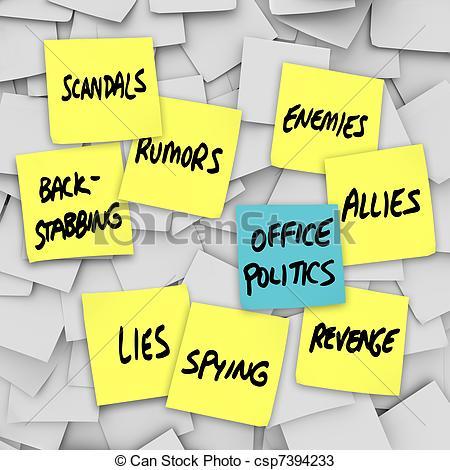 Office Politics Clipart.