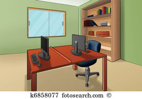 Office room Illustrations and Clip Art. 15,848 office room royalty.