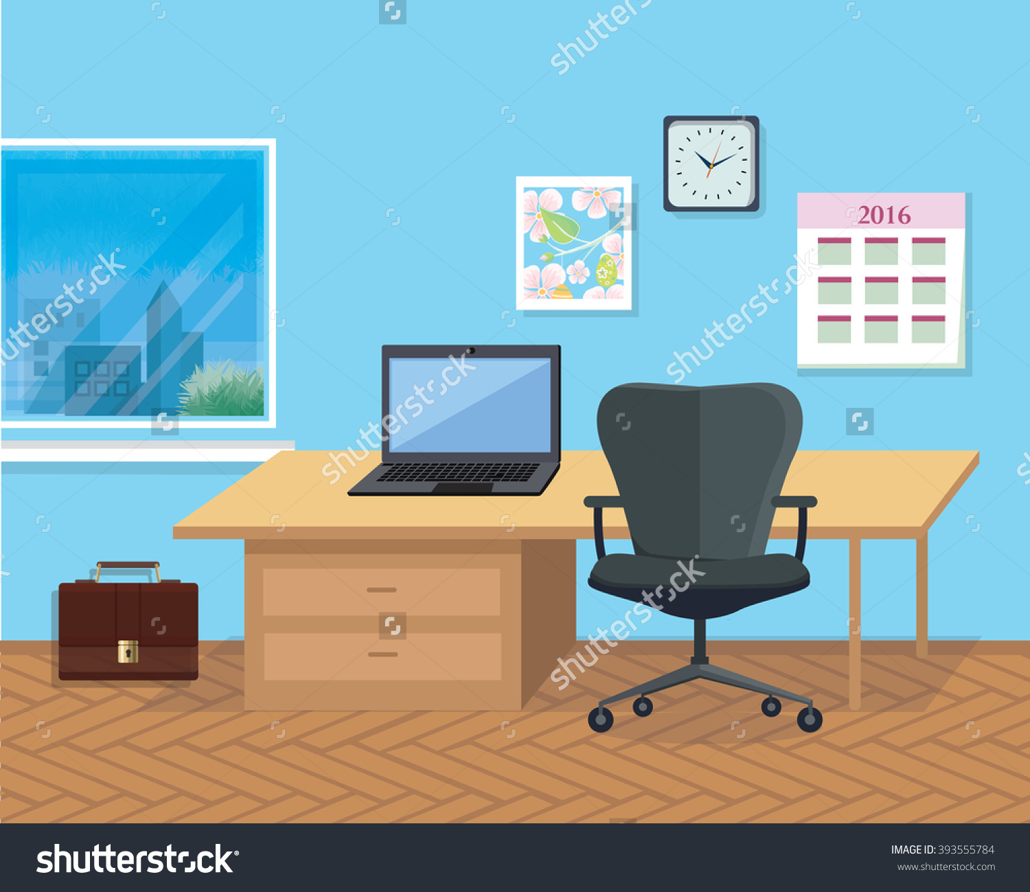 Office Space Clipart.