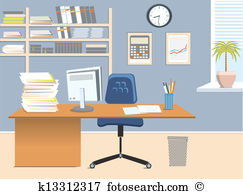 Office desk Clip Art EPS Images. 18,787 office desk clipart vector.