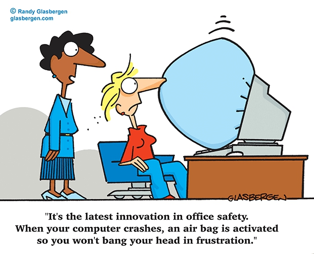 Office Safety Cartoons And Clipart#2071014.