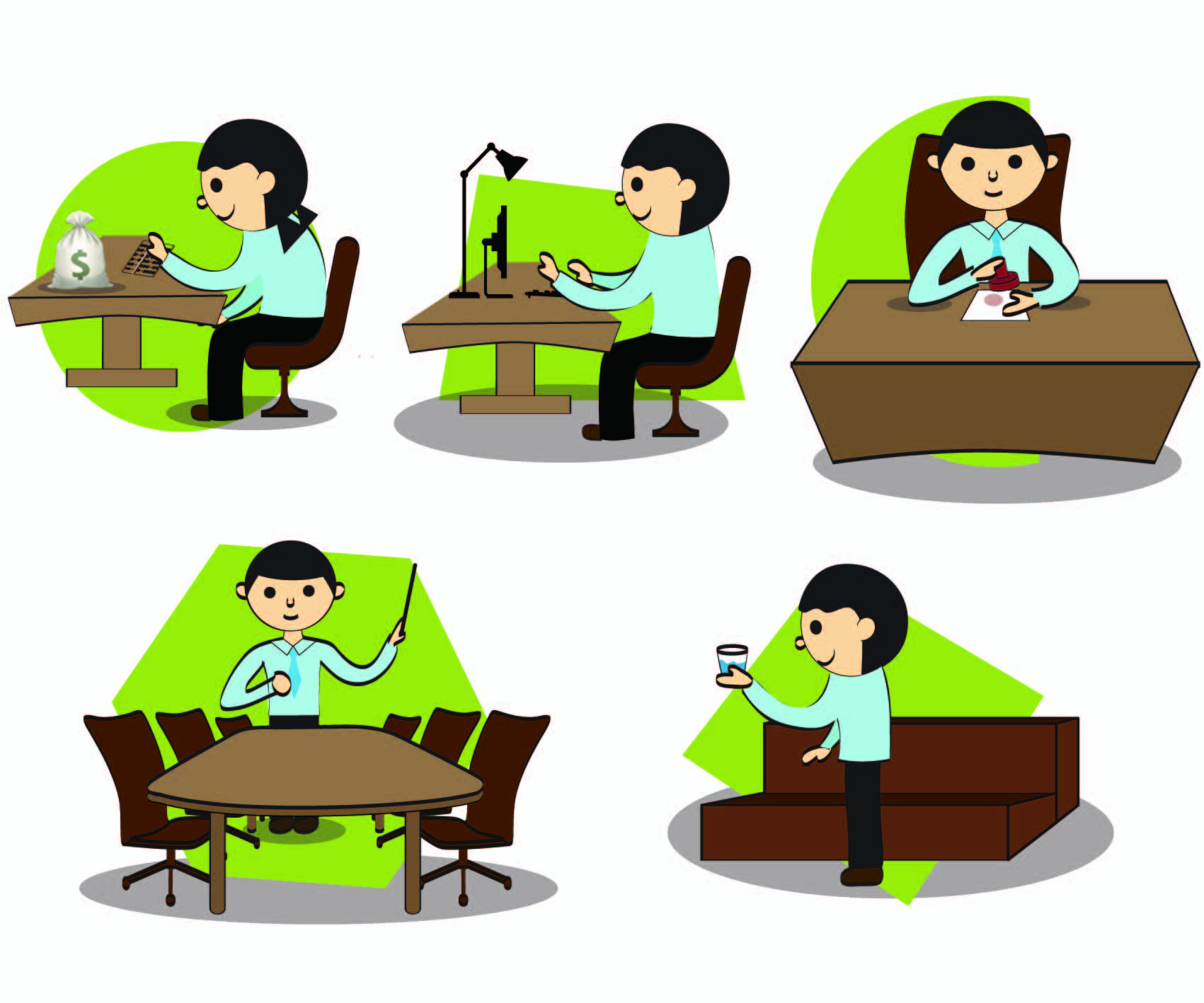 Images For Office Work Clipart.