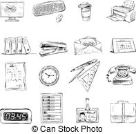 Office stationery Clip Art and Stock Illustrations. 28,226 Office.