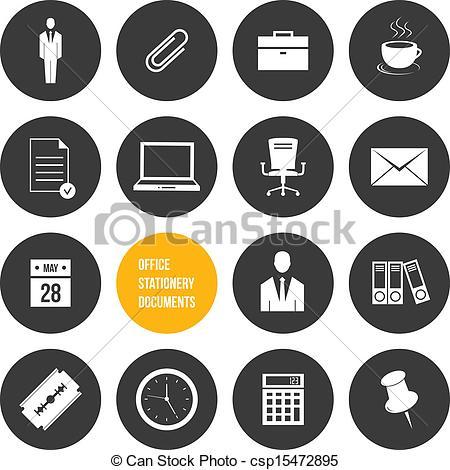 Office stationery Vector Clip Art Illustrations. 18,866 Office.