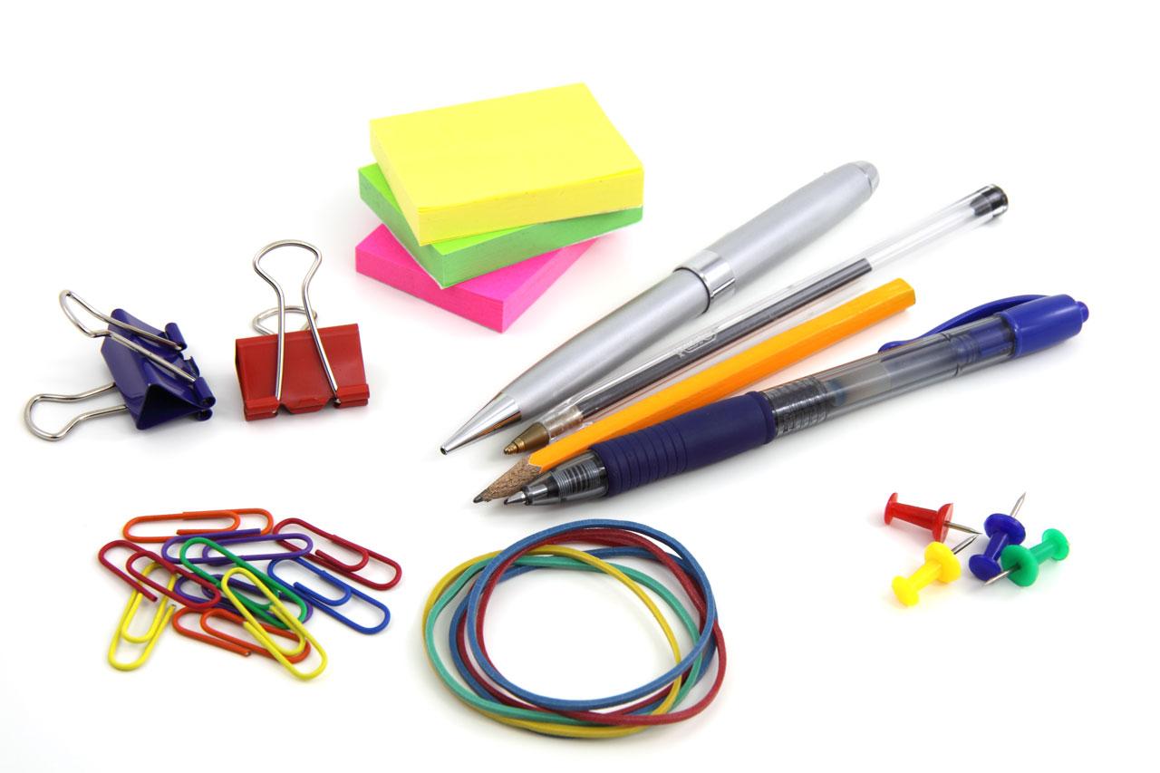 Office supplies clip art free.