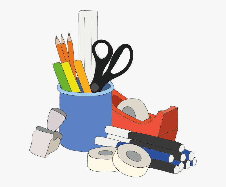 Office Supplies Clipart Png.