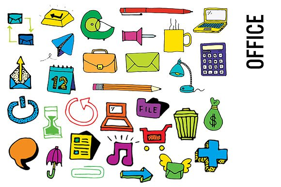 Office Supplies Clip Art.