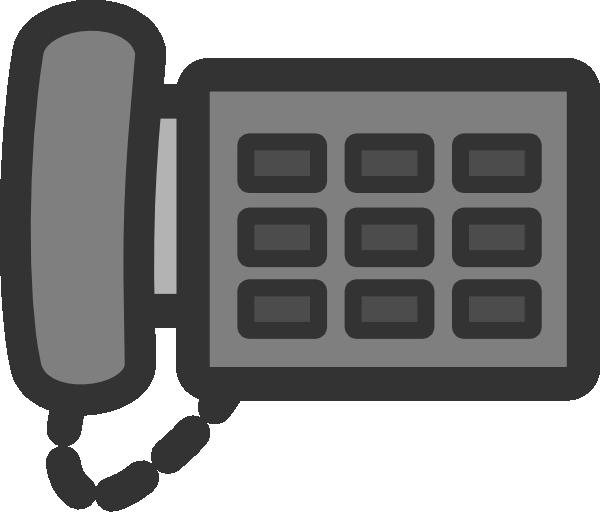 Office Phone 2 Clip Art at Clker.com.