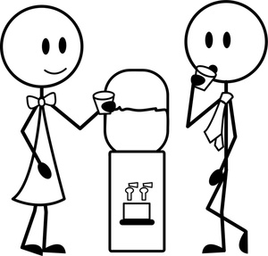 Office Workers Clipart Image.