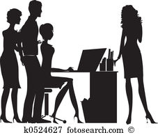 Female office worker Stock Illustration Images. 1,931 female.