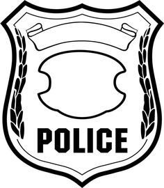 Badge clipart police officer, Picture #69385 badge clipart.