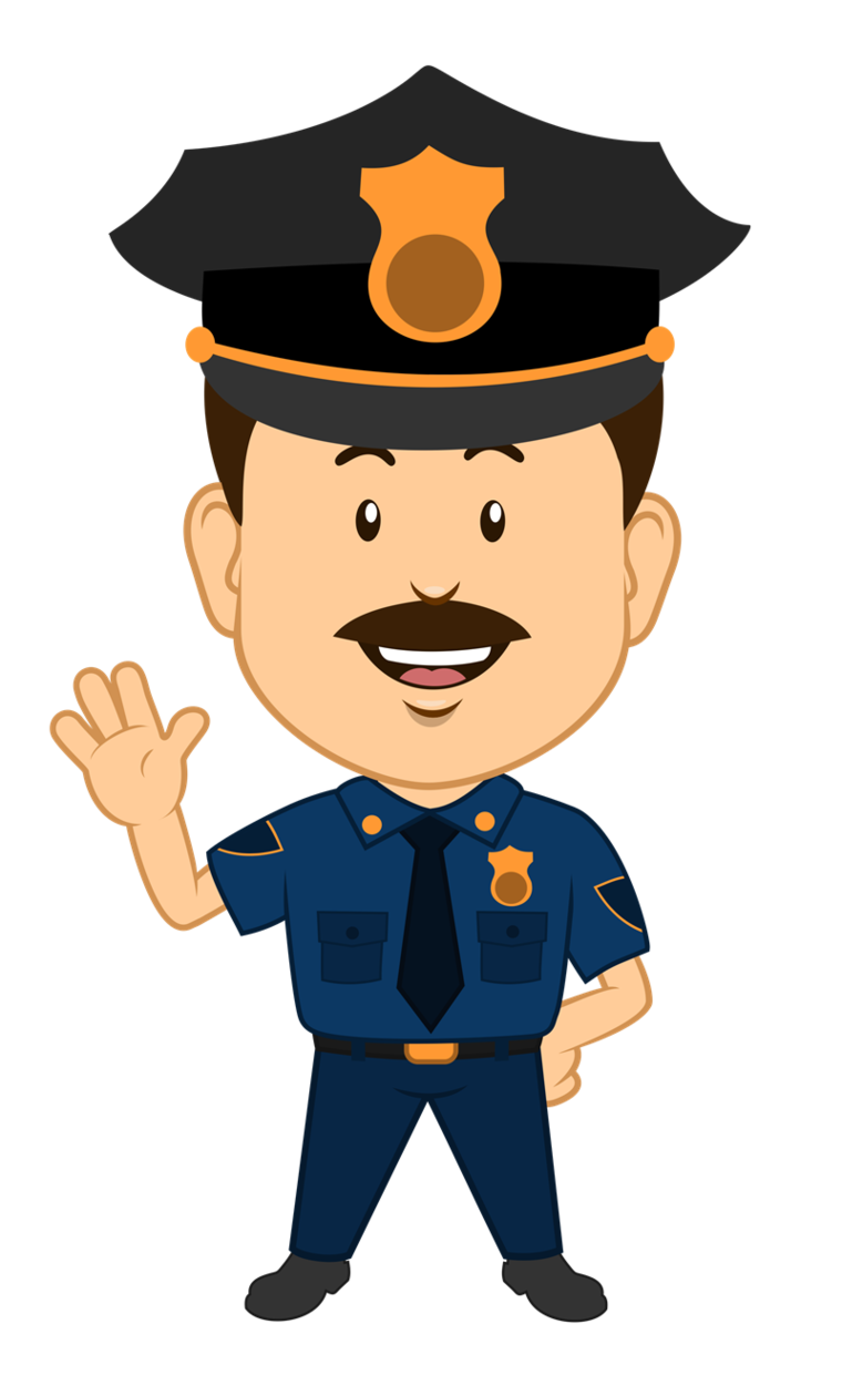 Cute Police Officer Clipart.