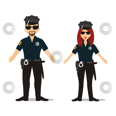 Related Keywords & Suggestions for Officers Clipart.