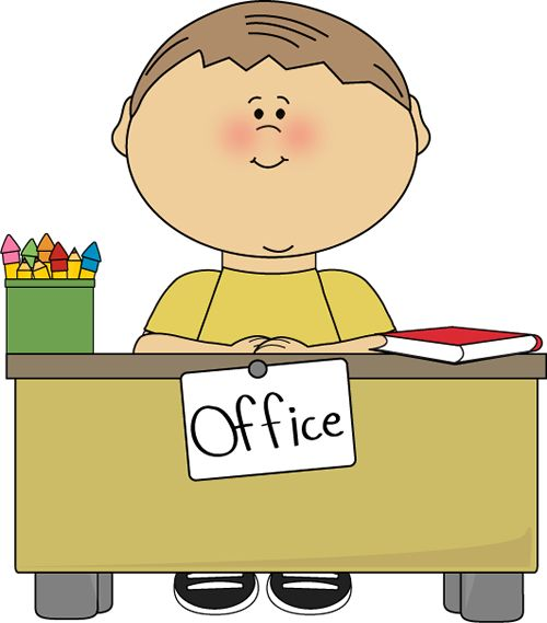 Office Assistant Subsitute Clip Art.