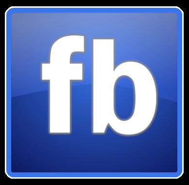 Official Facebook Icon Clipart.