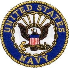US Navy Logo Patch.