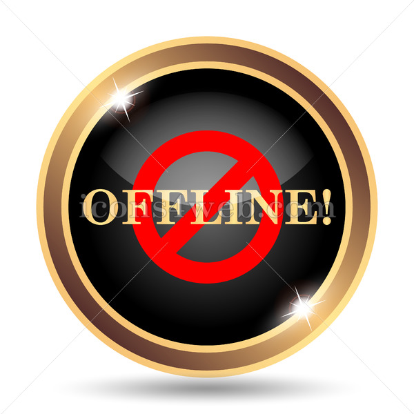 Offline gold icon..