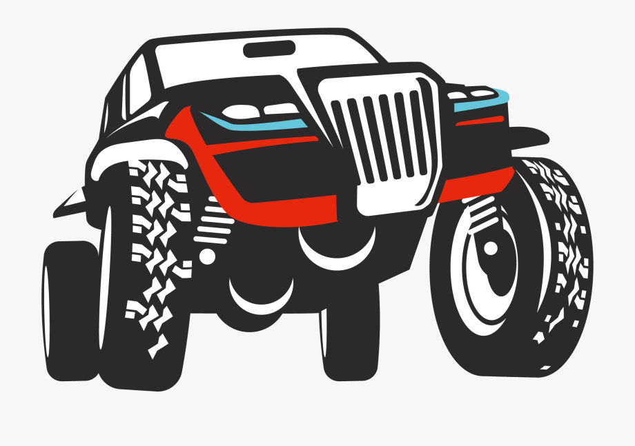 Off Road Jeep Clipart.