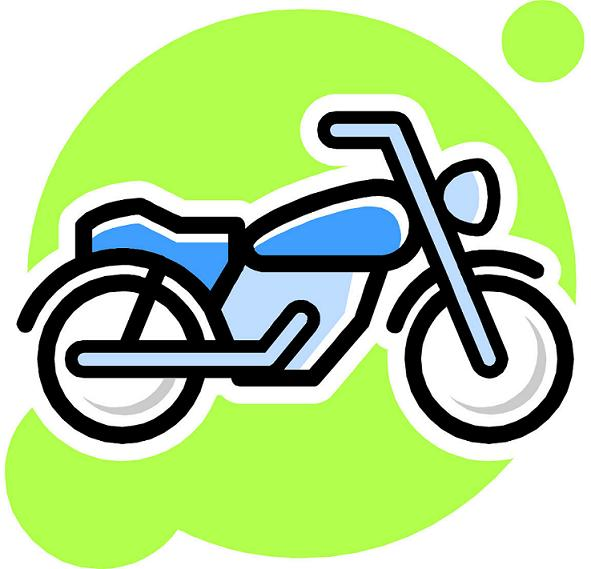 Dirt Bike Tire Clipart.