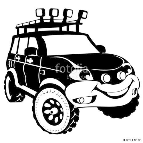 Showing post & media for Cartoon off road clip art.