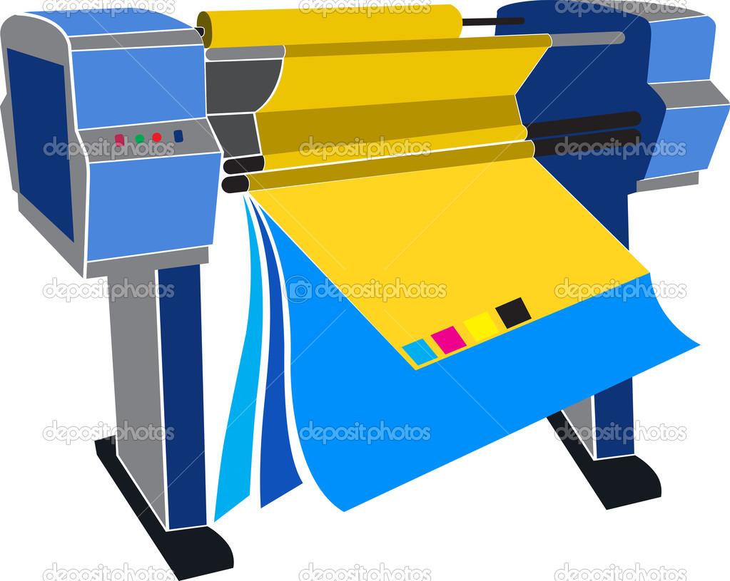 Printing press Stock Vectors, Royalty Free Printing press.